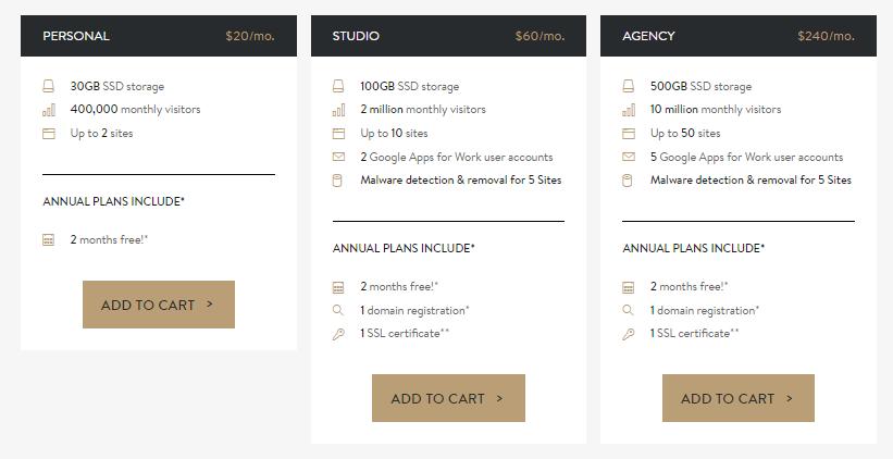 Media Temple - Select WordPress Hosting Plan