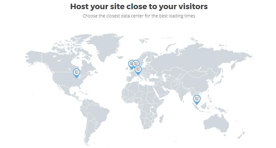 Siteground Locations